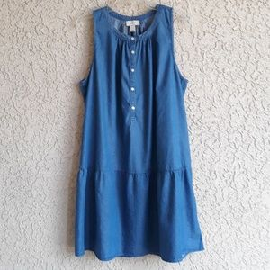 Loft Chambray Sundress